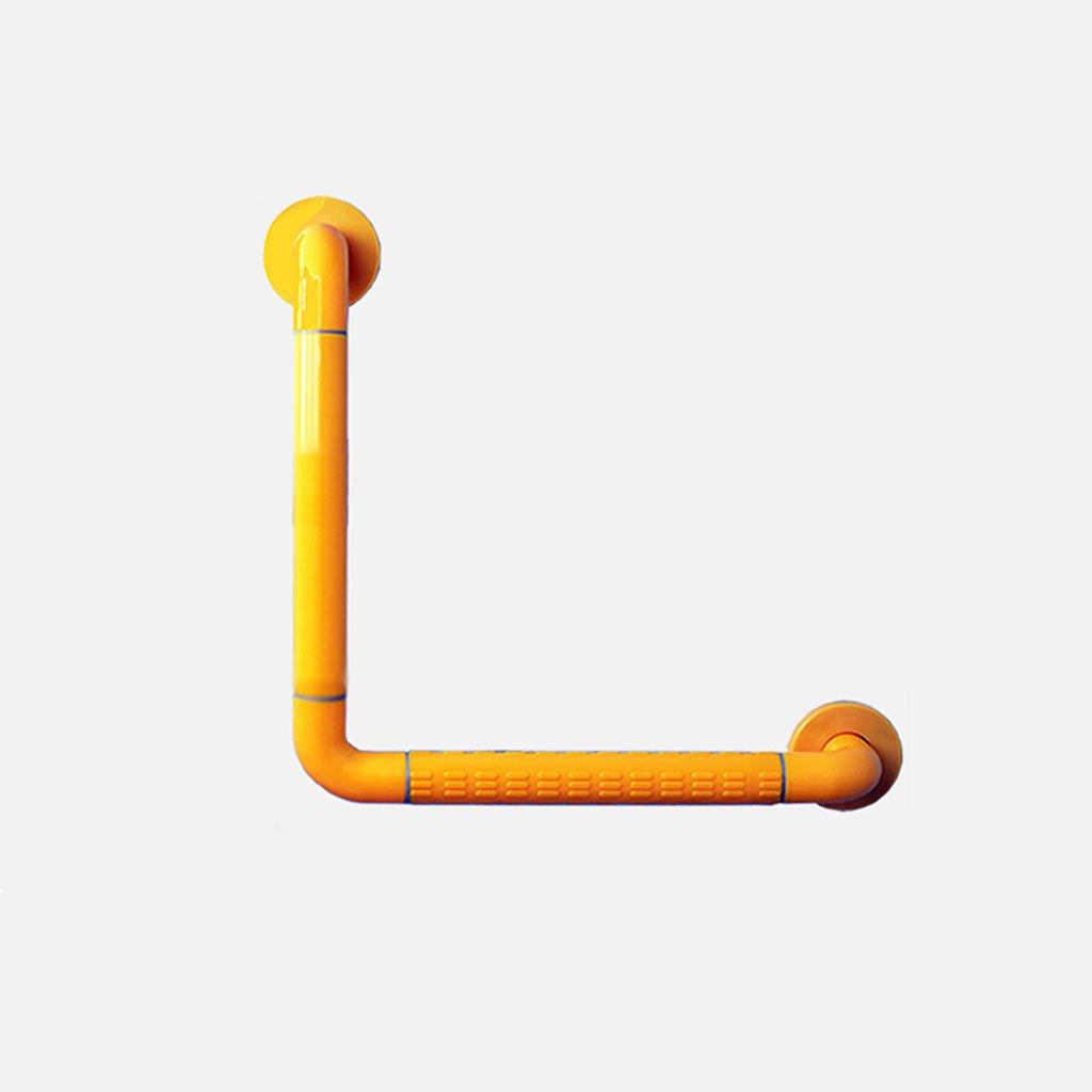 バスルーム手すりステンレス高齢者、障害者、障壁のないL型手すりバスタブ、シャワー、トイレ、壁掛けノンスリップアームレスト (色 : イエロー いえろ゜, サイズ さいず : 30センチメートル-30センチメートル) B07DGQD11J 30センチメートル-30センチメートル イエロー いえろ゜ イエロー いえろ゜ 30センチメートル30センチメートル