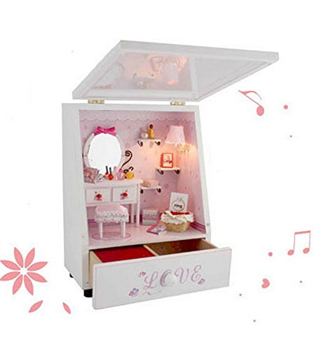 The Princess's Room Miniature House Manual Assembly Model