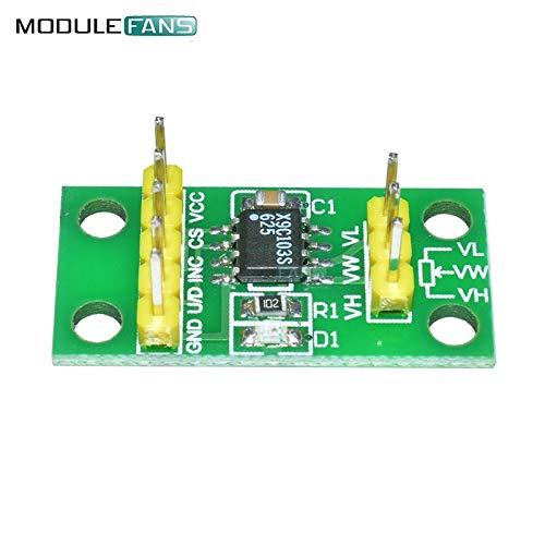 X9C103S module de carte de potentiomètre numérique pour Arduino DC3V-5V  ZH/<B