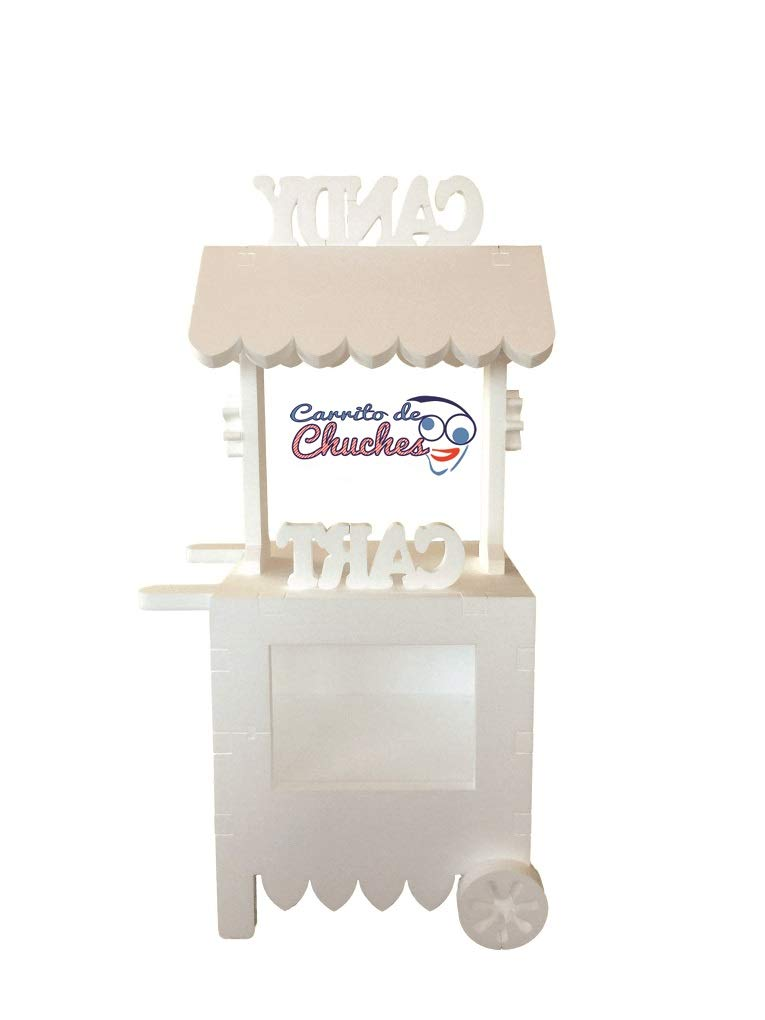 CANDY CART. Para decorar,Reutilizable, Medidas 132cms (Alto) x56cms (Largo) x47cms (Fondo),fabricado en material XPS ,extrusionado ¡IMPORTANTE!