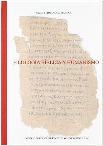 Filología bíblica y humanismo Textos y Estudios Cardenal Cisneros: Amazon.es: Fernández Marcos, Natalio: Libros