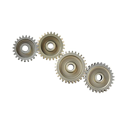 Gear 30t - RCRunning 24T 26T 28T 30T (48DP) 3.175mm Shaft Motor Pinion Gear Combo Hardening for 1/10 RC Car Brushless/Brushed Motor