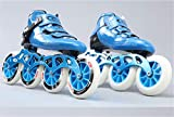 LNYF-OV Skates Inline Carbon Fiber Straight Row Wheel Adult Men and Women Speed Skating Shoes Children Professional Single Row Speed Skating Roller