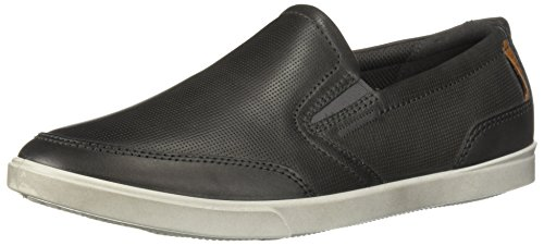 - ECCO Men's Collin Casual Slip On Sneaker, Titanium, 43 M EU (9-9.5 US)