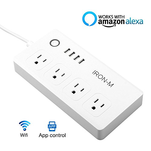Iron-m WiFi Smart Power Strip Surge Protector,...