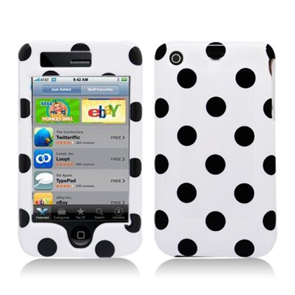 Apple iPhone 3G & 3GS Snap-on Protector Hard Case Image Cover