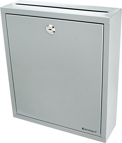 BARSKA Multi-Purpose Drop Box, Grey, Large
