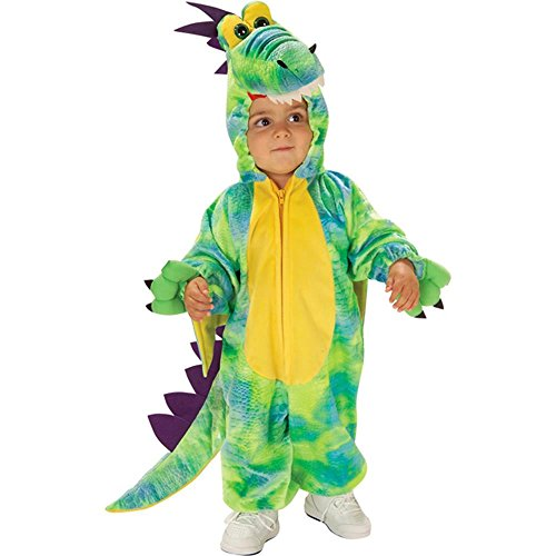 [Child's Toddler Fairytale Dragon Halloween Costume 2T] (Dragon Tales Costume)