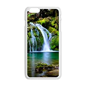 Personalized Creative Cell Phone Case For iphone 5C ,clear waterfall scene