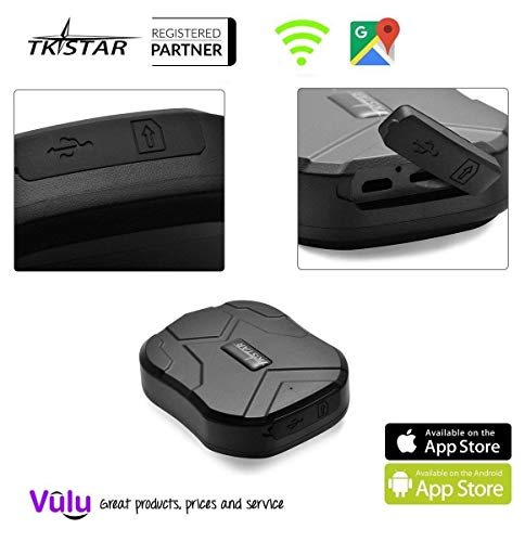GPS Tracker Long Standby Car Locator GPS Tracker Free App Strong Magnet for Vehicle GPS Tracking Real Time Tracking Device Anti Lost Geo Fence Car Tracker for Cars SUV Motorcycles Trucks Vehicles by XCSOURCE (Image #1)
