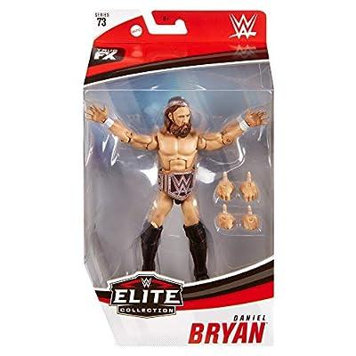 WWE Daniel Bryan Elite Collection Action Figure, Multi: Toys & Games