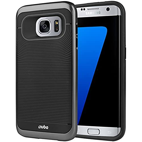 S7 Edge Case, OUBA Galaxy S7 Edge Case, [Dual Layer] Hybrid Armor Defender shockproof Protective Cover Case for Samsung Galaxy S7 Edge - Black Sales