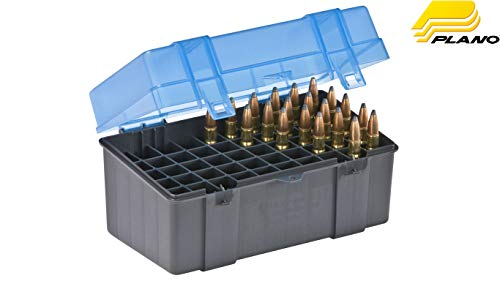 Plano 50 Round Rifle Ammo Case with Slip Cover, Large