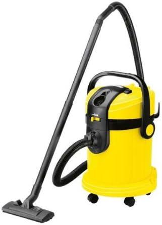 Kärcher A 2604 - Aspirador, 1800 W, 25 l, 430 x 380 x 555 mm, 8200 g, color negro y amarillo: Amazon.es: Bricolaje y herramientas