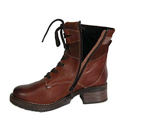Dromedaris Kvinner Kara Boot Cognac Skinn