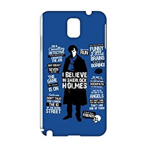 Evil-Store Sherlock holms 3D Phone Case for Samsung Galaxy Note3