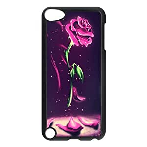 Beauty And The Beast, Cartoon Back Cover Case Plastic For ipod touch 5 Generation , Wholesale ipod touch 5 Cases