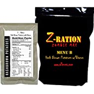 MRE Z-Ration (Zombie MRE) Custom Meals Ready to Eat! (MENU B - Hash Brown Potatoes with Bacon)