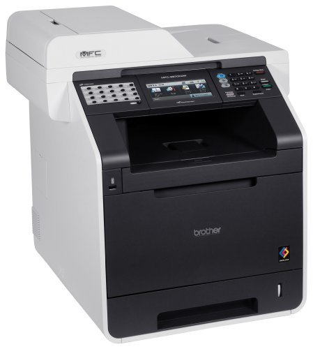 Brother MFC9970CDW - Impresora láser Color de Alta Velocidad (con Tarjeta de Red, WiFi, fax, tóner de Larga duración y Doble Cara en Todas Las ...