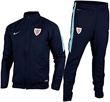 2015-2016 Athletic Bilbao Nike Woven Tracksuit (Obsidian): Amazon ...