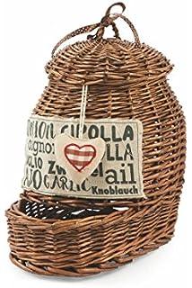 Villa d \'Este Home Tivoli The Cucina Potato Basket Cream: Amazon.co ...