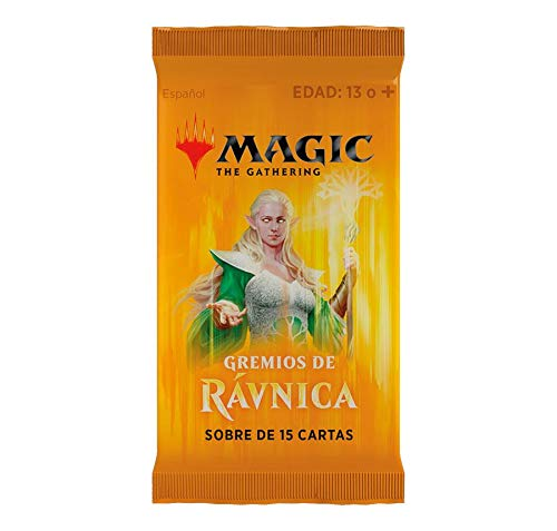 Magic The Gathering Gremios de Rávnica 3 Sobres 15 Cartas ...