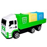 Winkey Toy for 1 2 3 4 5 6 Years Old Kids Girls Boys, Children Educational Sanitation Car Toys Truck Imaginative Play Toy for Improving Fine Toys for Kids