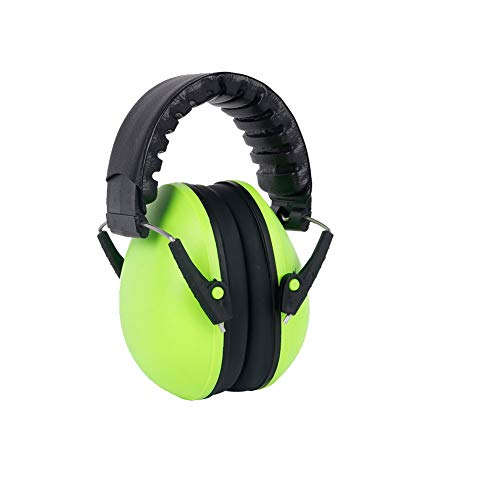 1 Pc 21dB Highest NRR Safety Ear Muffs Kids Safety Ear Muffs Ear Defenders Hearing Protection Sound Canceling Headphones Baby Protective Green from Asien