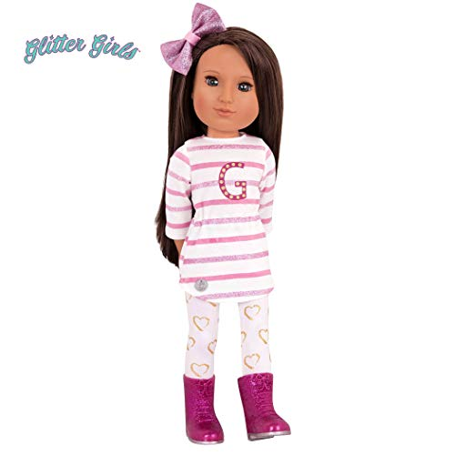 Glitter Girls by Battat - Sarinia 14 inch  Non Posable Fashion Doll - Dolls for Girls Age 3 and Up