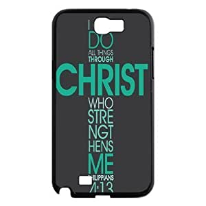 Bible Verse The Unique Printing Art Custom Phone For Case Samsung Note 4 Cover ,diy ygtg619971