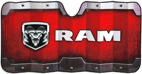 UPC 081134136759, Plasticolor 003675R01 Accordion-Style 'RAM' Windshield Sunshade