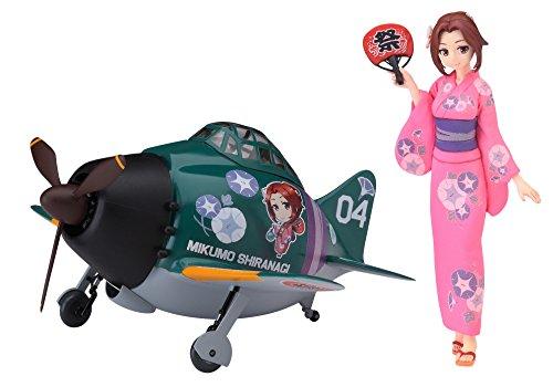 - Hasegawa SP383 Egg Girls Collection No.4 Mikumo Shiranagi w/Mitsubishi A6M Zero Fighter 1/20 Scale kit