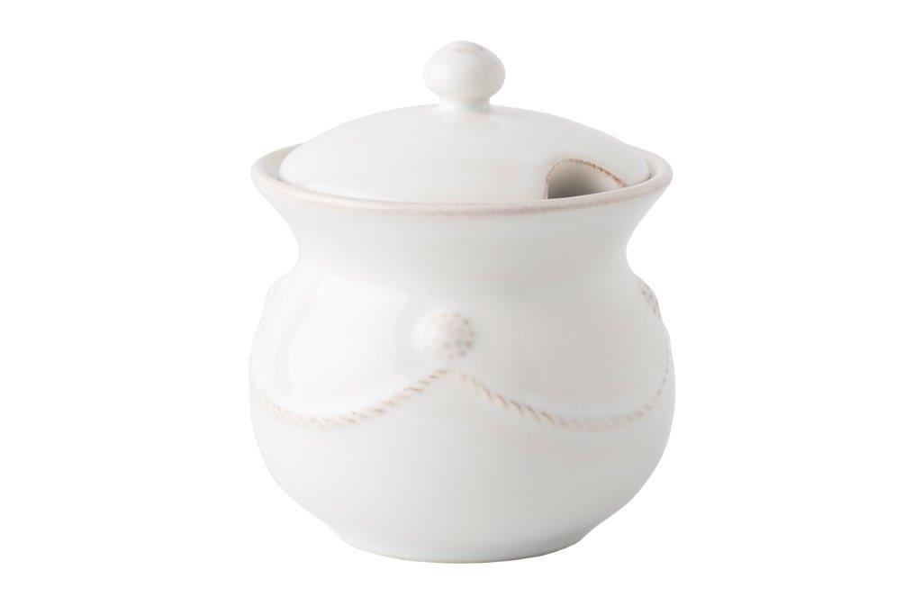 Juliska Berry & Thread Lidded Sugar Pot Whitewash