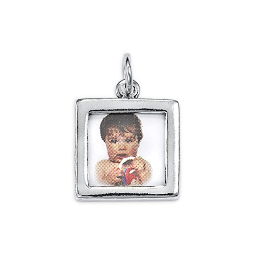 Square Picture Frame Charm - 7
