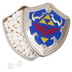 Price comparison product image Toy / Game The Legend Of Zelda The Ocarina Of Time Ice Arrow Mints- One Tin (3 X 2.5 X 0.5 Inches ; 1.3 Ounces)