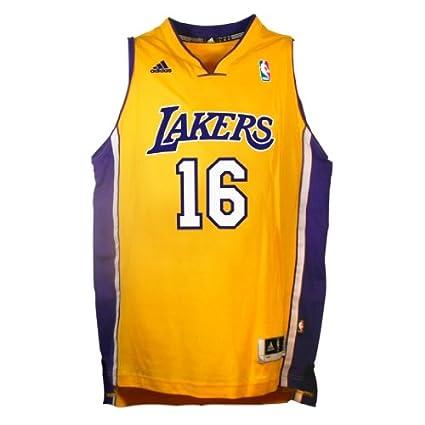 22a353d3a Amazon.com   NBA Los Angeles Lakers Pau Gasol Youth 8-20 Swingman ...