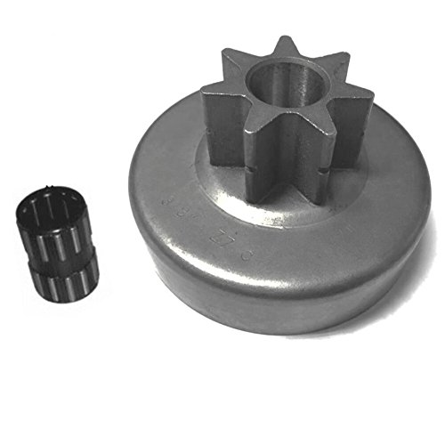 Hippotech SPUR SPROCKET & BEARING 7 TOOTH 3/8 PITCH Fits STIHL MS380 038 MS381 Chainsaw (3/8 Pitch 7 Tooth)