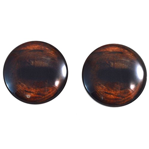 - Extra Large 40mm Pair of Brown Horse Glass Eyes, for Jewelry Making, Dolls, Sculptures, More