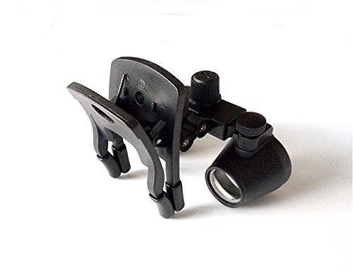 Doc.Royal Surgical Medical Binocular Clip Loupes Lab Head Magnifier w/Clip-on 2.5X420mm DY-109 by Doc.Royal (Image #4)