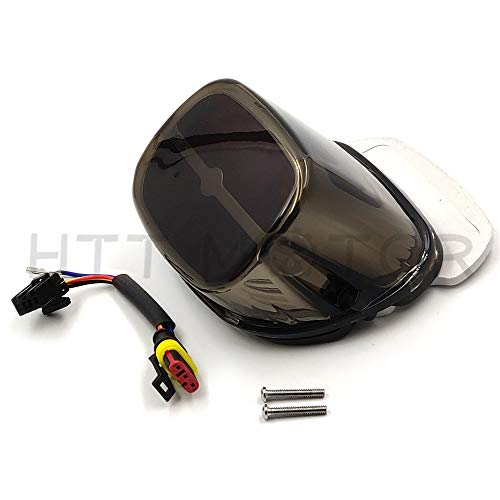RED Tail Brake Running Light For Harley Dyna Sportster 1999-2008 Touring models SMOKE Lens ()