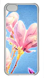 iphone 5c case,custom iphone 5c case,PC Material,Drop Protection,Shock Absorbent,Customize your own cell phone case pattern,gray case,Peach blossom