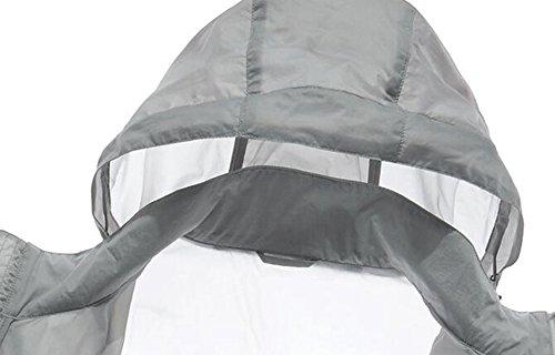 UPF30 Libre De Fina Contra White La Al De La Secado Los De Chaqueta La Cazadora Aire Piel Hombres gnXz0gaq