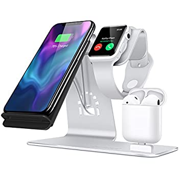 Amazon Com Bestand 3 In 1 Aluminum Apple Iwatch Stand