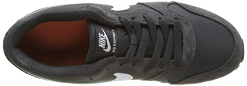 Nike Mädchen Md Runner 2 Gs Gymnastikschuhe Grau (Anthracite/white/terra Orange/black)