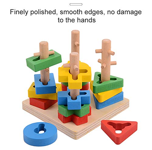 Littolo Wooden Stacking Blocks