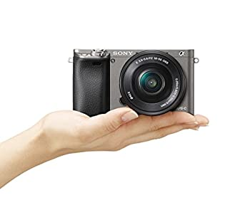 Sony Alpha A6000 Mirrorless Digital Camera With 16-50mm Lens, Graphite (Ilce-6000lh) 3