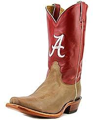 LDALA22 Nocona Womens Alabama College Boots - Red
