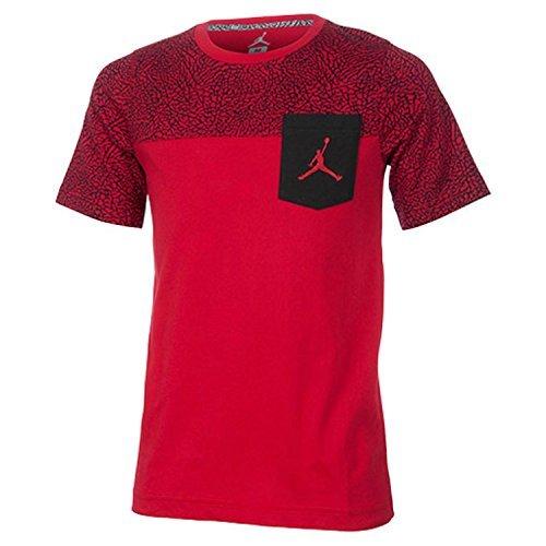 NIKE Air Jordan Pocket T-Shirt BOYS YOUTH ATHLETIC TOP TEE (L 12/13)