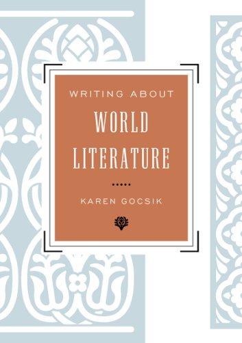 Writing About World Literature