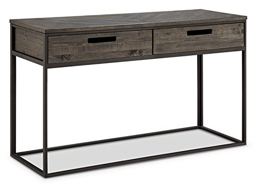 Magnussen T4034-73 Claremont T4034 Claremont Transitional Weathered Charcoal Rectangular Sofa Table